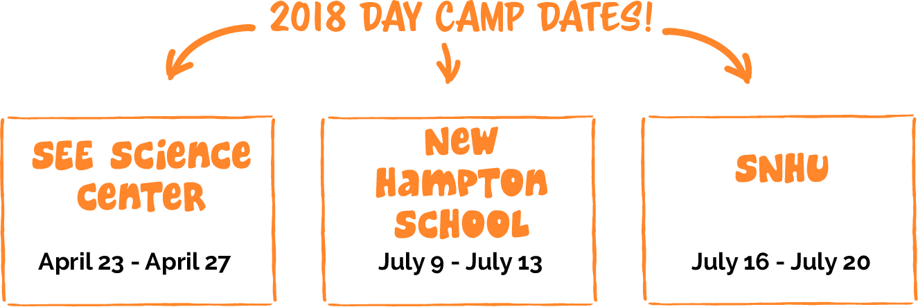 Day Camp Session Dates 2018